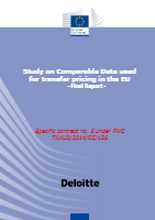 December 2016: EU Study on Comparable Data used for transfer pricing