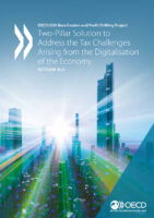 OECD deal on taxation of MNEs - Global Minimum Tax of 15%