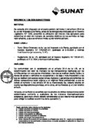 Peru - report on use of the most appropriate method to determine the market value of services